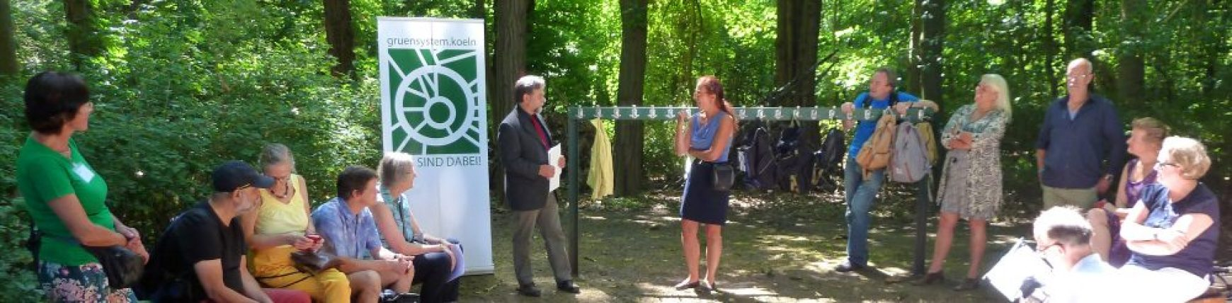 "Auftakt zum ""Jahr des Kölner Grünsystems"""