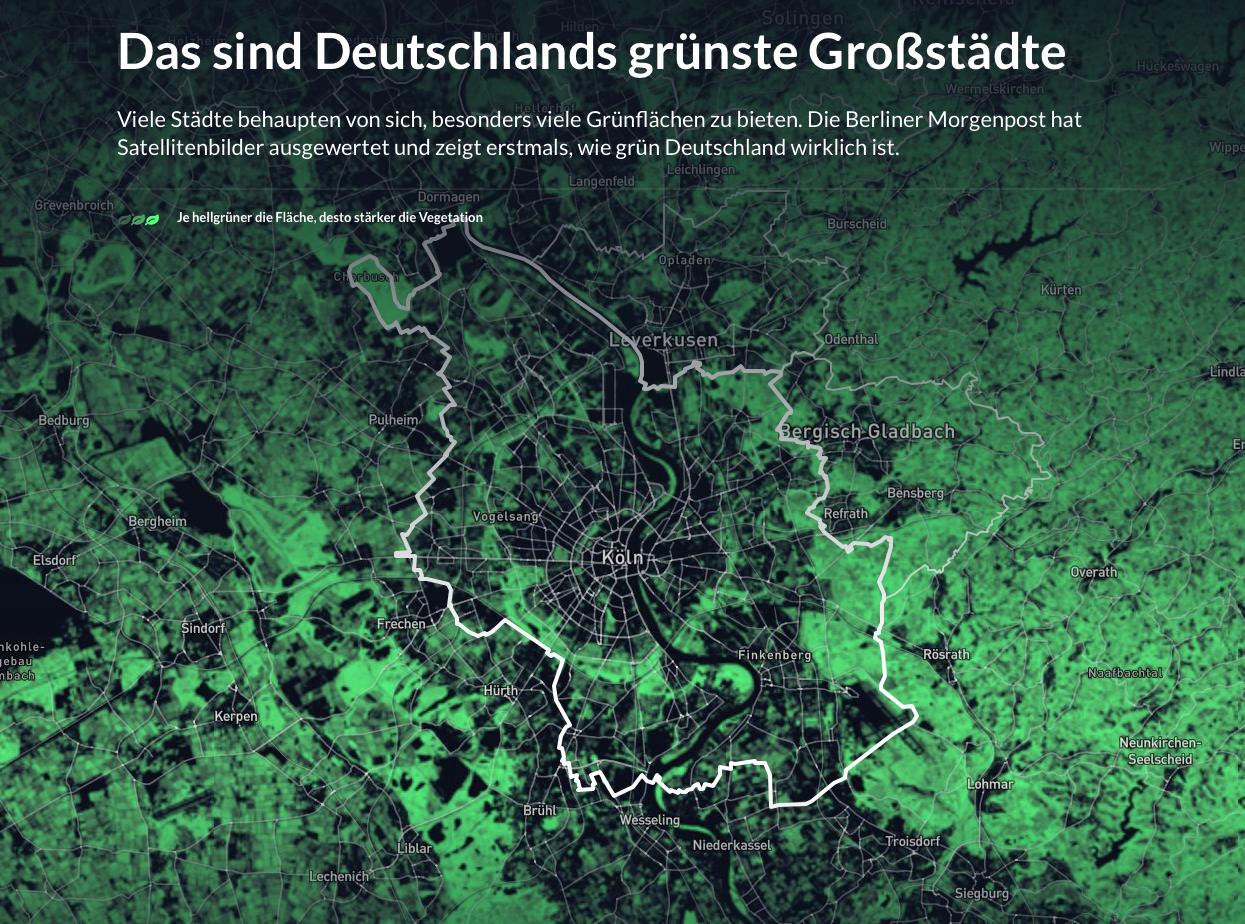 Das sind Deutschlands grünste Städte | Berliner Morgenpost