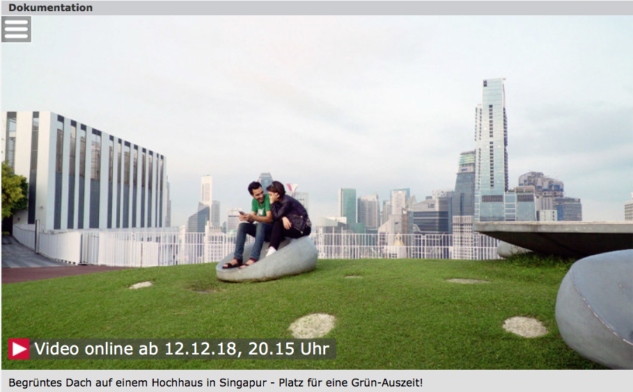 Heißes Pflaster Stadt – 3 SAT Reportage