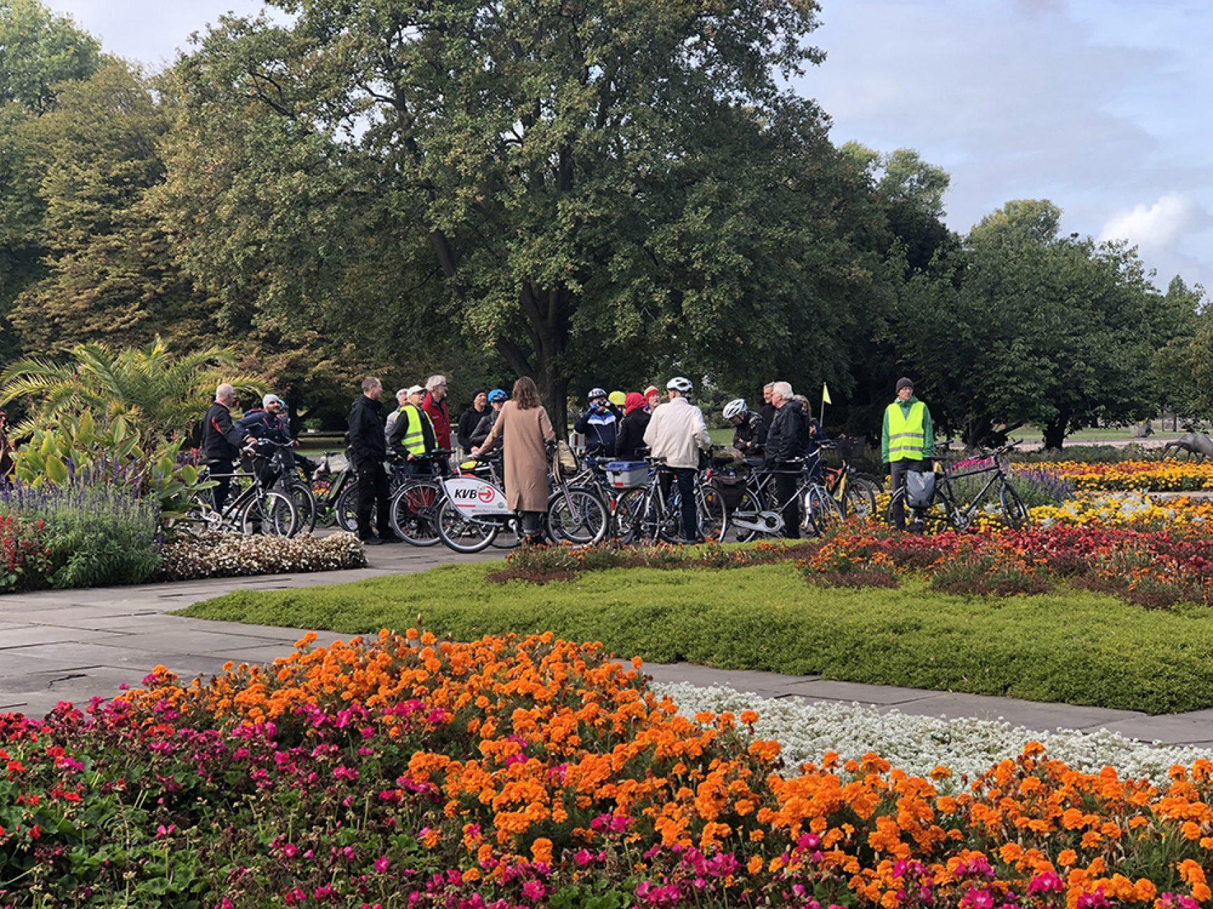 Das Innerstädtische Grün. Fahrradführung