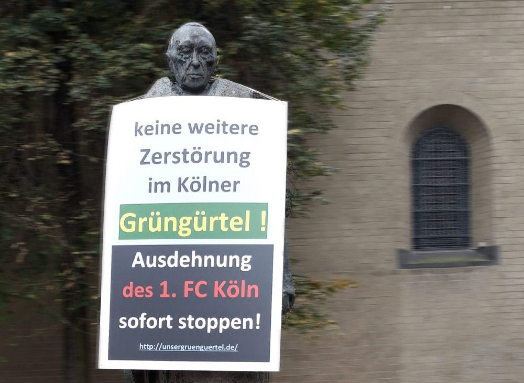 BUND NRW, NABU NRW und LNU NRW zu den Ausbauplänen des 1. FC Köln am Geißbock-Heim