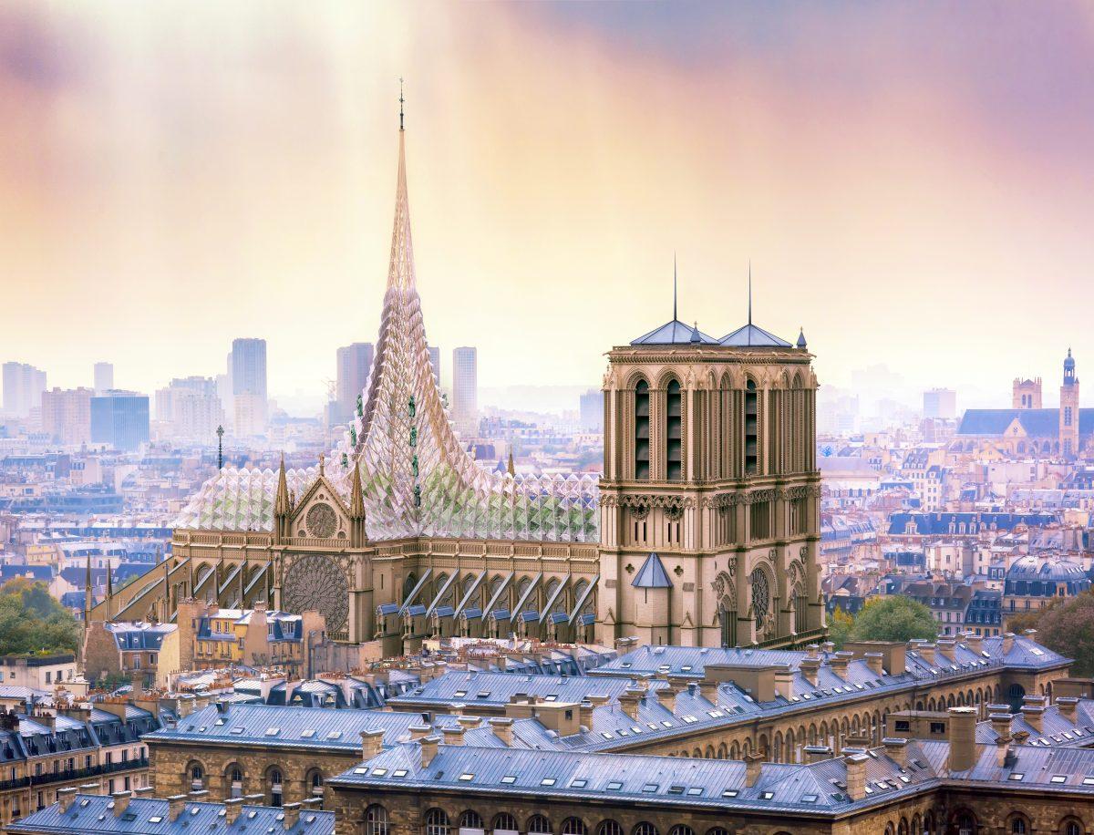 """Notre Dames """"Wiedergeburt"""""""
