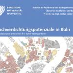 Nachverdichtungspotenziale in Köln